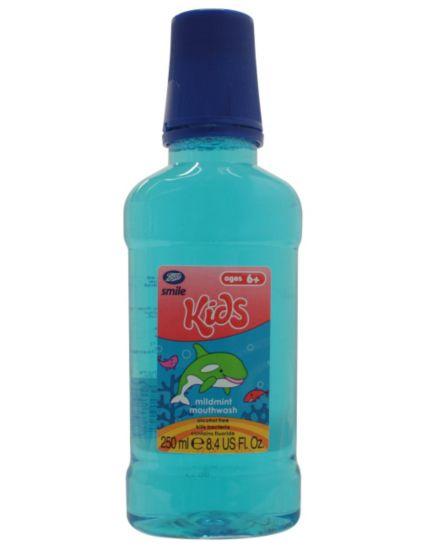 Boots Smile Kids Mildmint Mouthwash Ages 6+