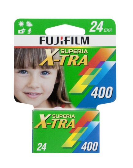 Fuji Superia Xtra 400 24 Exposure Film