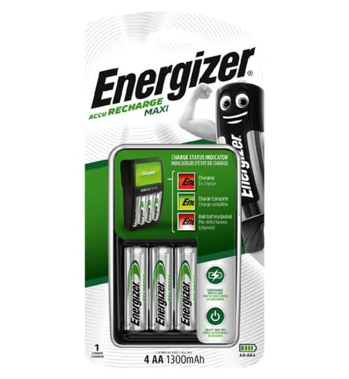 Energizer Compact Charger 2000MAH