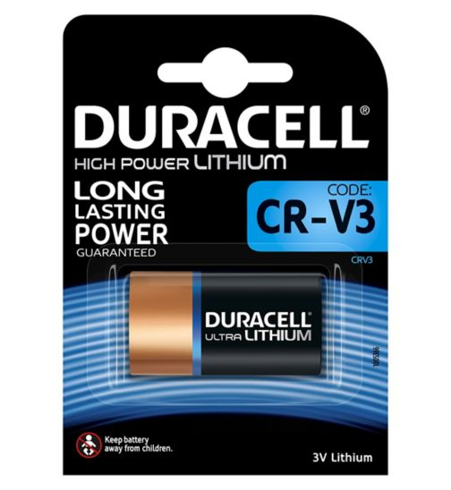 Duracell Ultra CR-V3 Lithium Digital Camera Battery