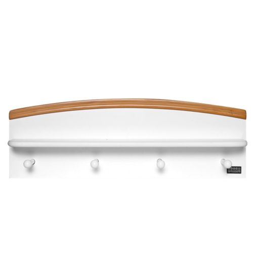 Tutti Bambini Barcelona Nursery Shelf - Beech White Finish