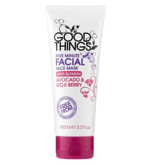 Good Things Five Minute Facial Mask 100ml
