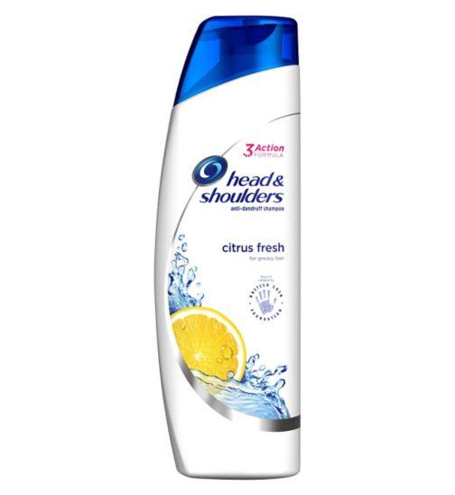 Head & Shoulders Citrus Fresh Anti-Dandruff Shampoo Oily Scalp 250ml
