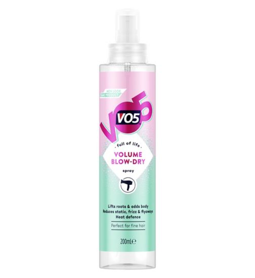 Vo5 amplifying body blow dry lotion 200ml