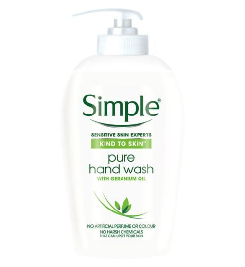 Simple Kind to Skin Pure Handwash 250ml