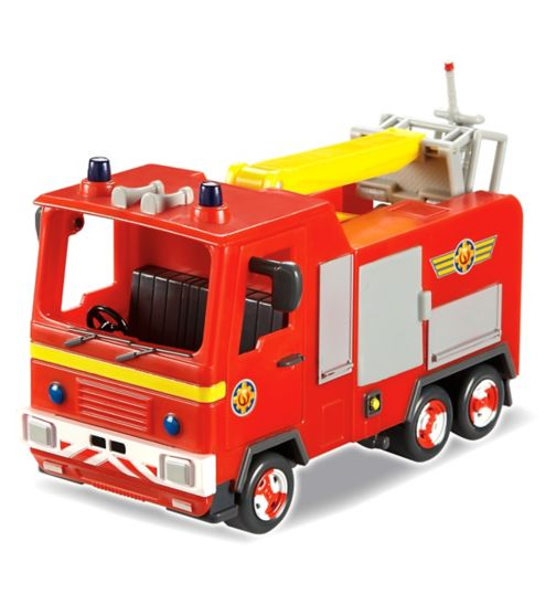 Fireman Sam jupiter fire engine solid