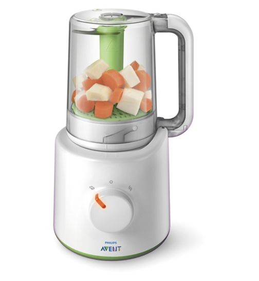 Philips Avent Combined Baby Food Steamer and Blender SCF870/21