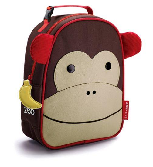 Skip Hop Zoo Insulated Lunch Bag Monkey