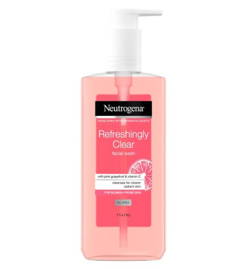Neutrogena Visibly Clear Pink Grapefruit Facial Wash 150ml