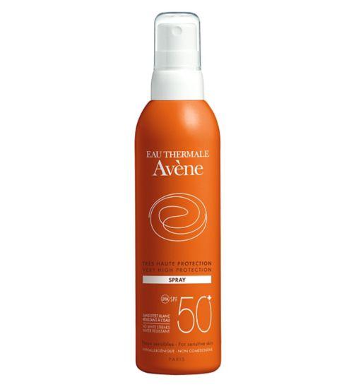 Avene Very High Protection Body Spray SPF50+ - 200ml