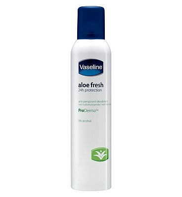Vaseline Aloe Sensitive Anti-perspirant Deodorant Aerosol 250ml