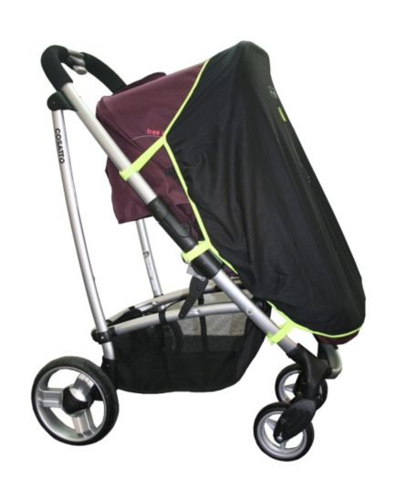 SnoozeShade Pushchair Blackout Blind - Black