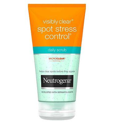 Neutrogena Spot Stress Control Daily Scrub 150ml