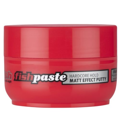 Fish hardcore hold matt effect putty