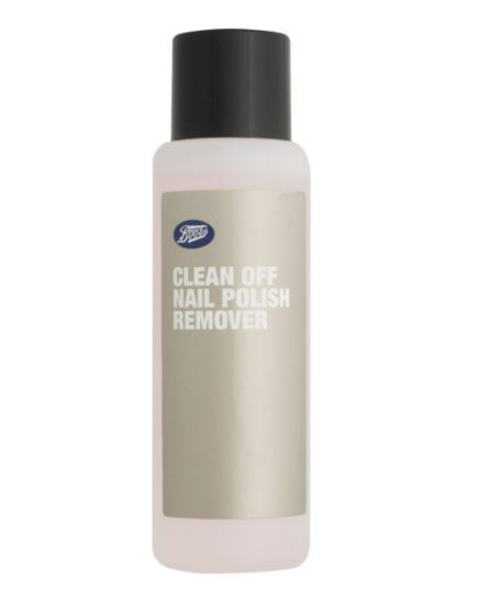 Boots Clean Off Nail Polish Remover 150ml