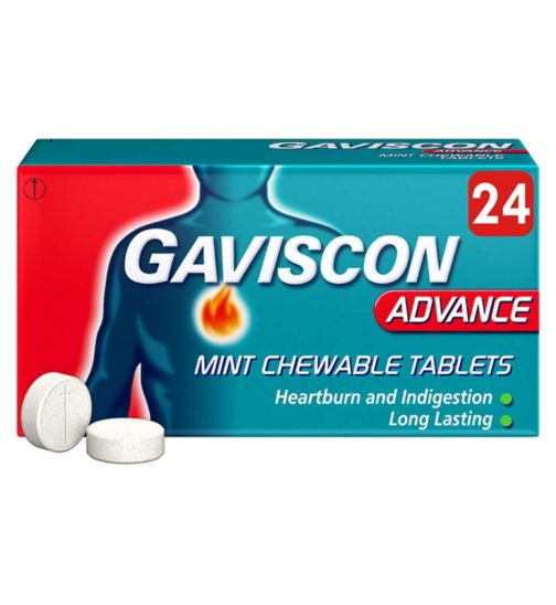 Gaviscon Advance Tablets - 24 Tablets