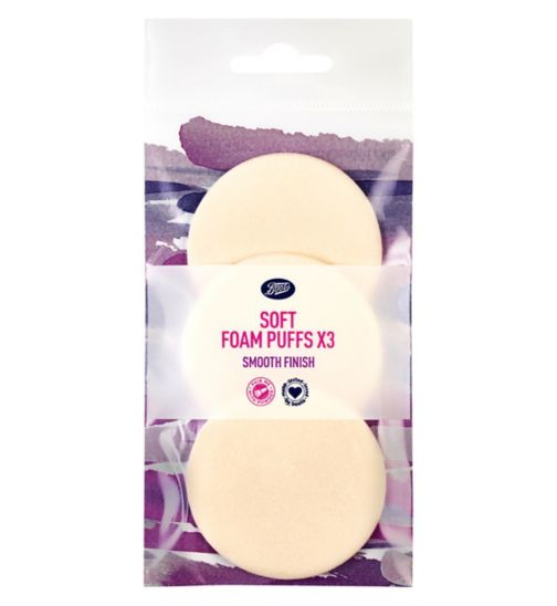 Boots Soft Foam Puffs - 3