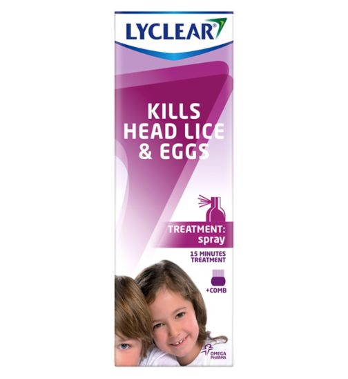 Lyclear Spray & Comb 100ml