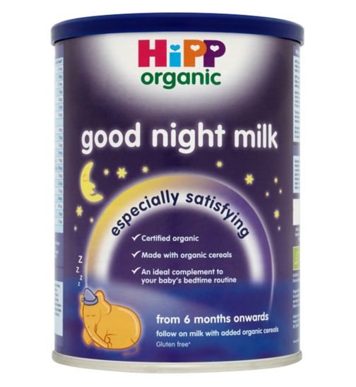 HiPP Organic Good Night Milk from 6 Months Onwards 350g