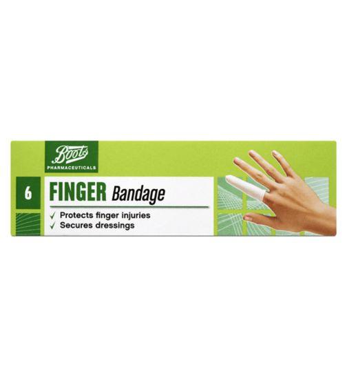 Boots Finger Bandage 6 Dressings Boots