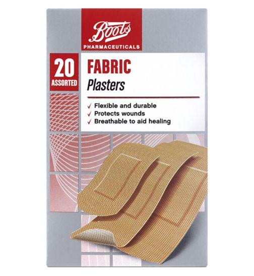 Boots Fabric Plasters- 20 Assorted