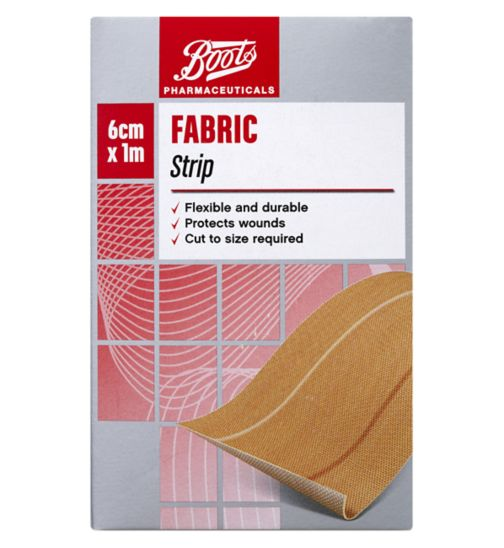 Boots Fabric Strip (1m x 6cm)