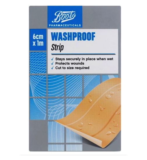 Boots Washproof Strip (1m x 6cm)