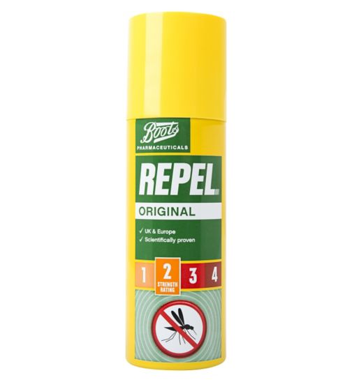 Boots Repel Original Insect Repellent Spray 125ml (6 Years+)