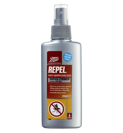Boots Repel Insect Repellent Pump Spray- 120ml
