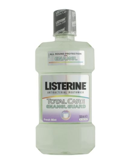 Listerine TotalCare Enamel mouthwash 500ml