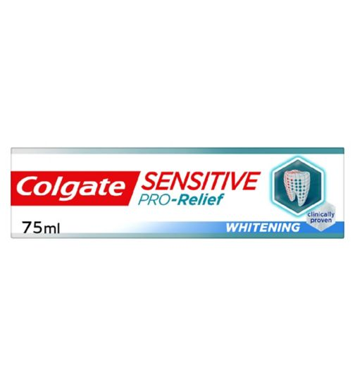 Colgate Sensitive Pro-Relief + Whitening Toothpaste 75ml