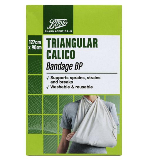 Boots Triangular Calico Bandage BP (127cm x 98cm)