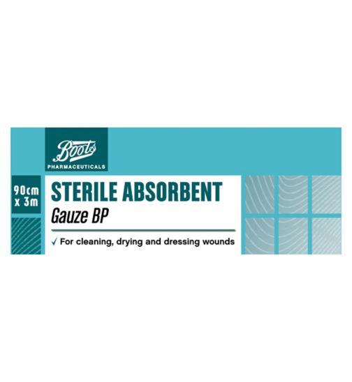 Boots Sterile Absorbent Gauze BP (3m x 90cm)