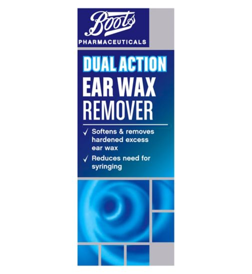 Boots Pharmaceuticals Dual Action Ear Wax Remover