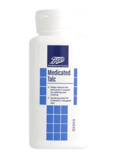 Boots Medicated Talc (100g)