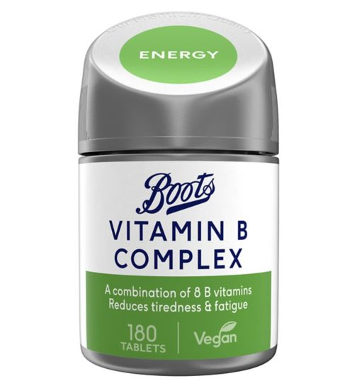 Boots Re:Balance Re-Energise Vitamin B Complex (180 Tablets)
