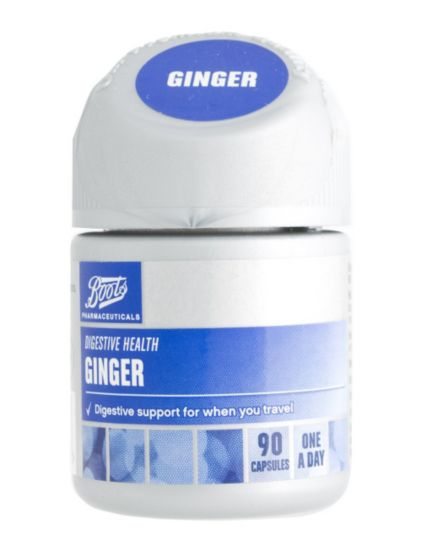 Boots Ginger (90 Capsules)