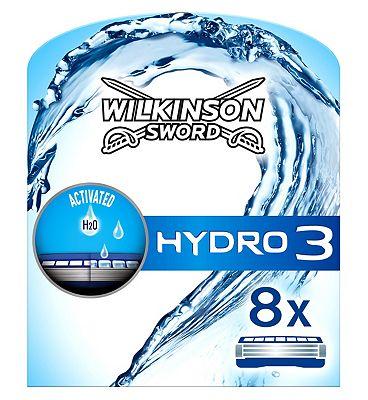 Wilkinson Sword Hydro 3 refill 8 pack
