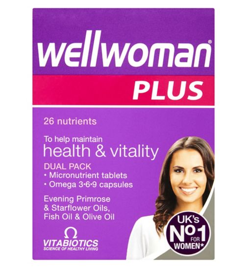 Vitabiotics Wellwoman Plus Omega 3.6.9 - 56 Tablets