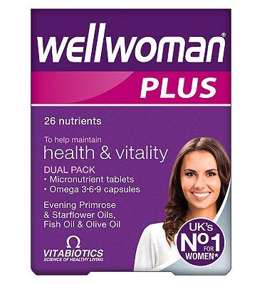 Vitabiotics Wellwoman Plus Omega 3.6.9 - 56 Tablets