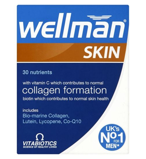 Vitabiotics Wellman Skin Technology - 60 Tablets