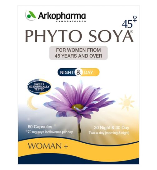Phyto Soya High Strength Night & Day Menopause Capsules - 60 capsules