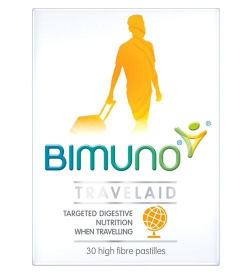 Bimuno Travelaid Pastilles - 30