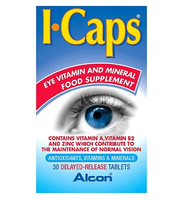 ICaps Extra Lutein Tablets 30s