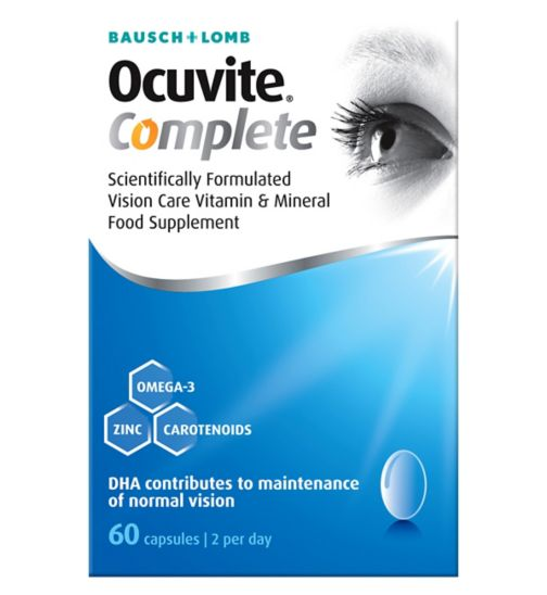 Bausch & Lomb Ocuvite Eye Complete 60 Soft Gels