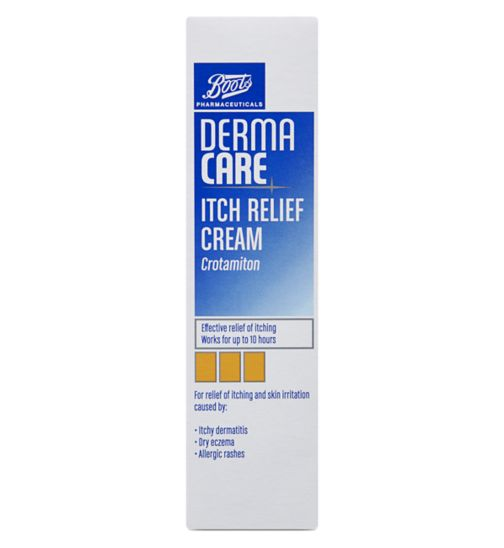 Boots Pharmaceuticals Derma Care Itch Relief Cream- 30g