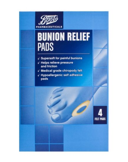 Boots Bunion Relief Pads (4 Felt Pads)