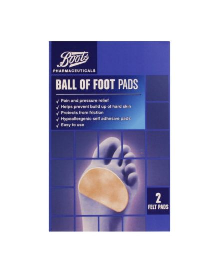 Boots Ball of Foot Pads (2 Felt Pads)