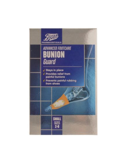 Boots Pharmaceuticals Advanced Footcare Bunion Guard Small (Sizes 2-6)