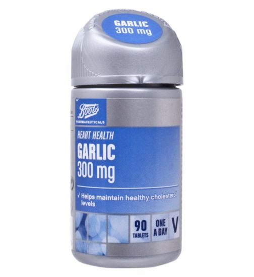 Boots Garlic 300mg (90 Tablets)